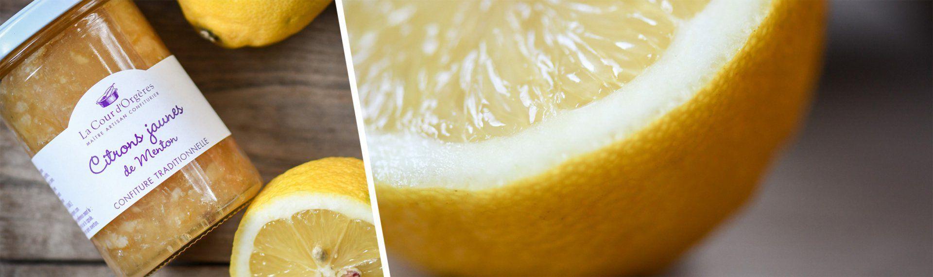 Confiture au citron de Menton