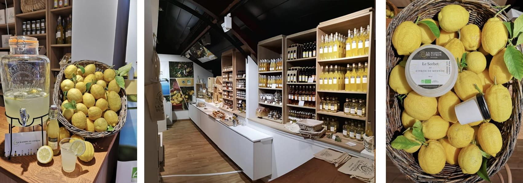 Boutique La Maison du Citron à Nice