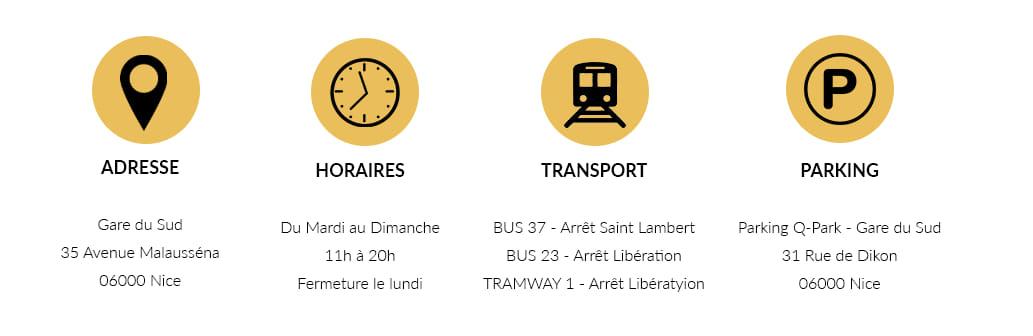 Informations La Maison du Citron Gare du Sud de Nice