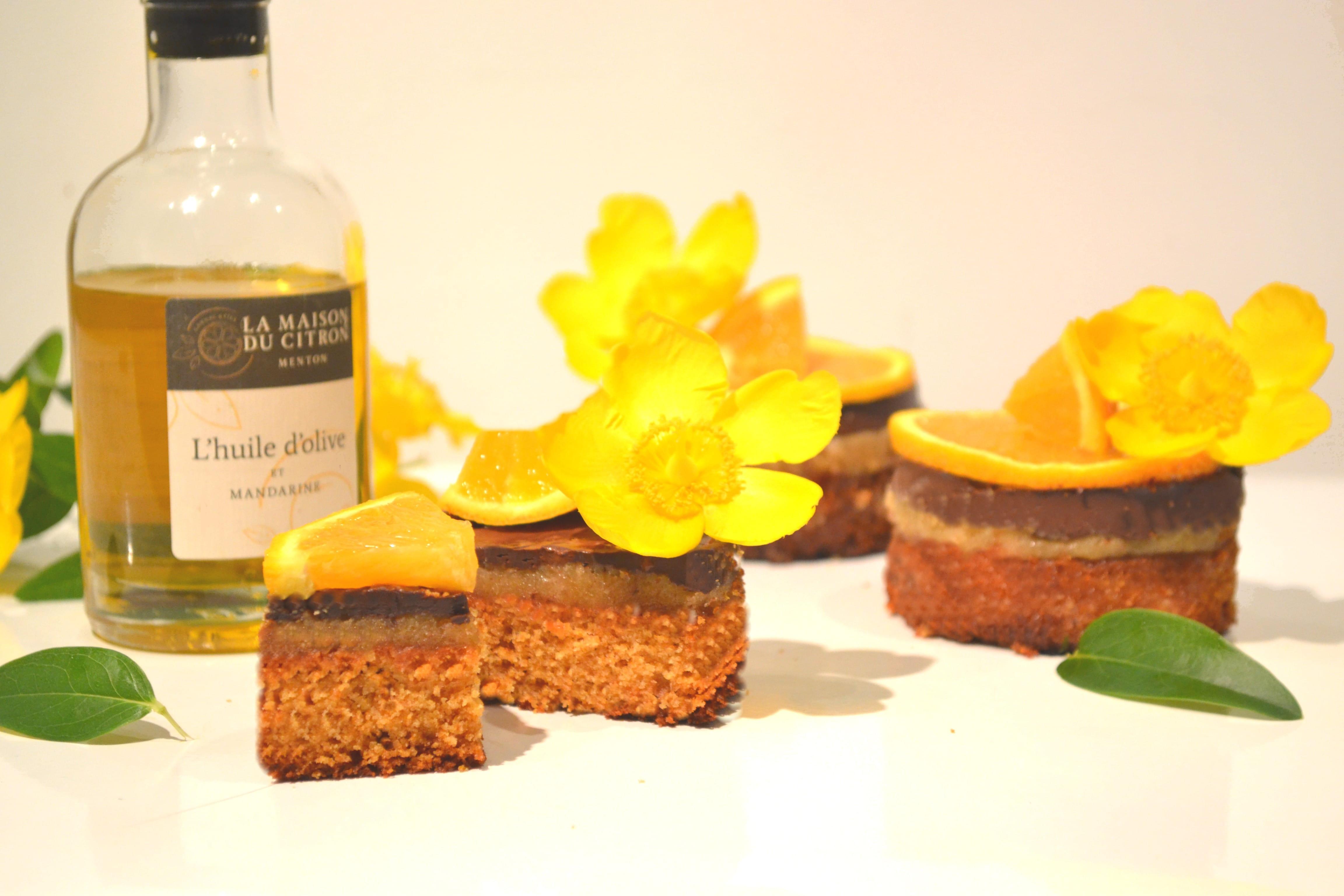 Palets bretons et sa crème fruitée